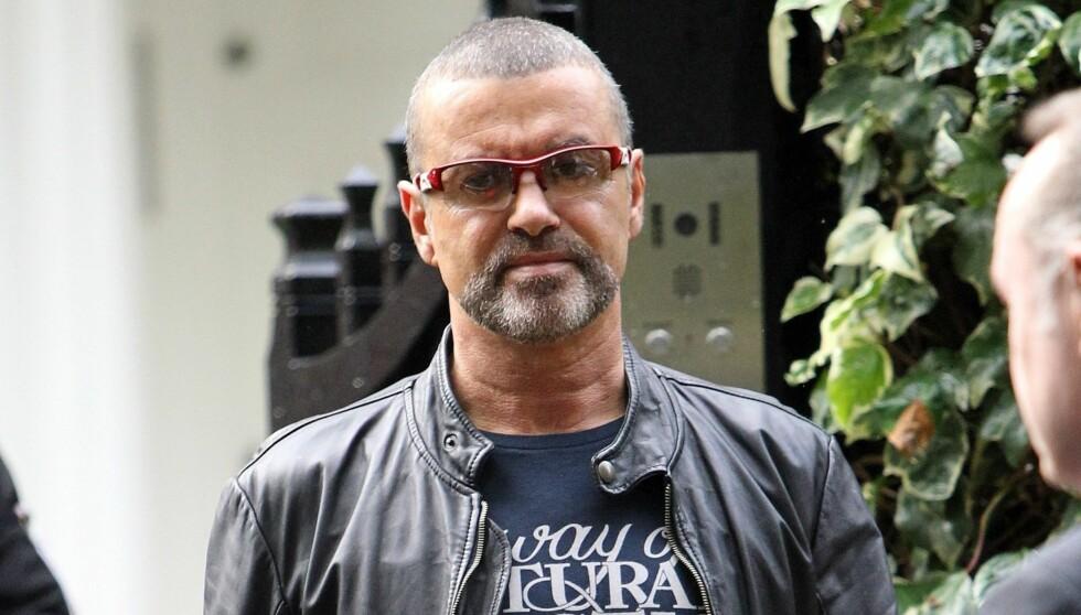 SLITER MED ANGST: George Michael innrømmet at han sliter med angst og at det er grunnen til at konsertene blir avlyst. Foto: FameFlynet