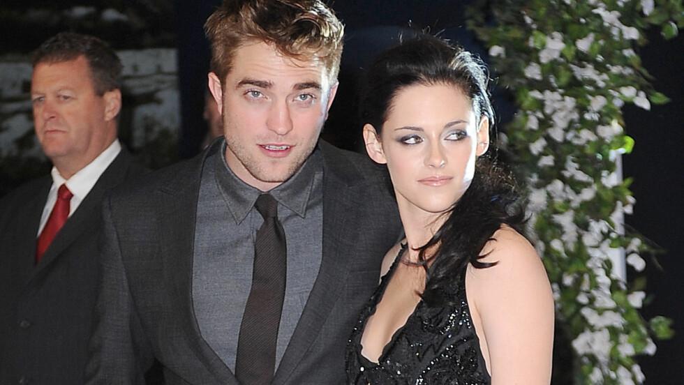TILGITT: Robert Pattinson har tilgitt Kristen Stewart og de to har flyttet sammen igjen.  Foto: All Over Press