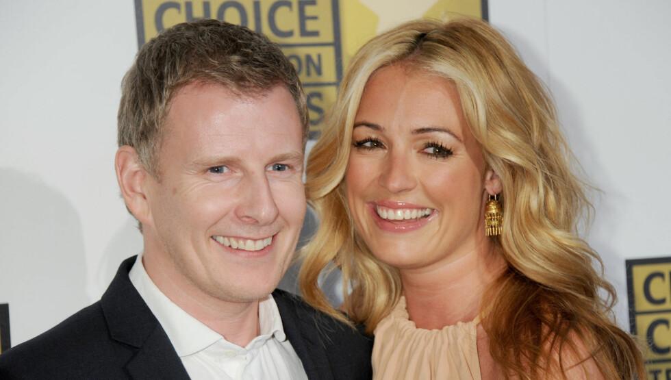 GIFTET SEG: Patrick Kielty og Cat Deeley giftet seg kun to måneder etter at paret forlovet seg. Foto: All Over Press