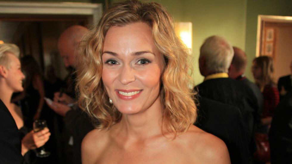 NY KJÆRESTE: Line Verndal forteller at hun har blitt sammen med den svenske regissøren Emil Jonsvik.  Foto: Anders Myhren / Seher.no