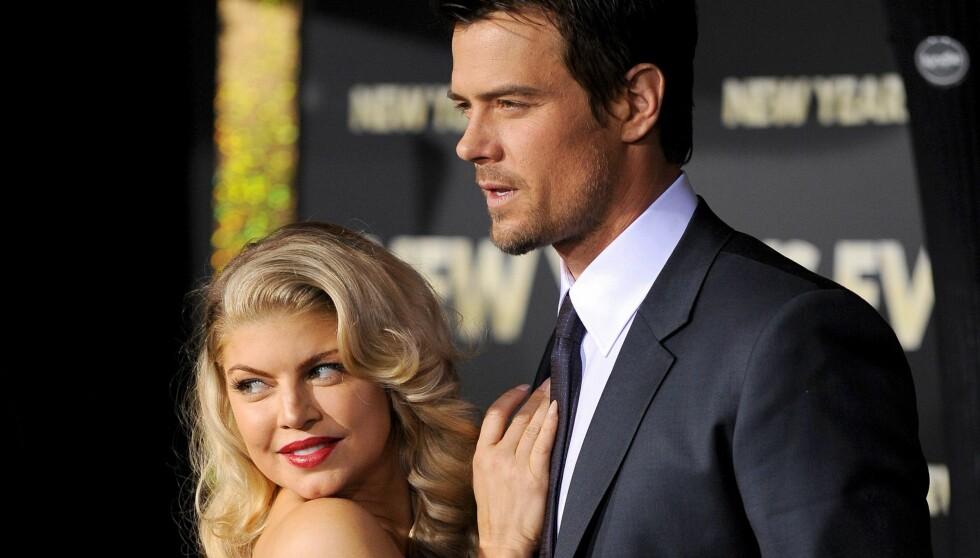 HOT: Fergie og Josh Duhamel har vært mann og kone i tre år. Foto: Fame Flynet