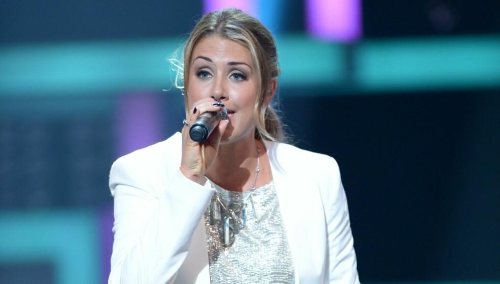 SANGFUGL: Det var gjennom talentshowet «Idol», som ble sendt på TV 2 i 2005, at Tone Damli Aaberge sang seg inn i de norske hjerter. Her opptrer hun under kanalens 20-årsjubileum i Grieghallen i Bergen tidligere i høst. Foto: Stella Pictures