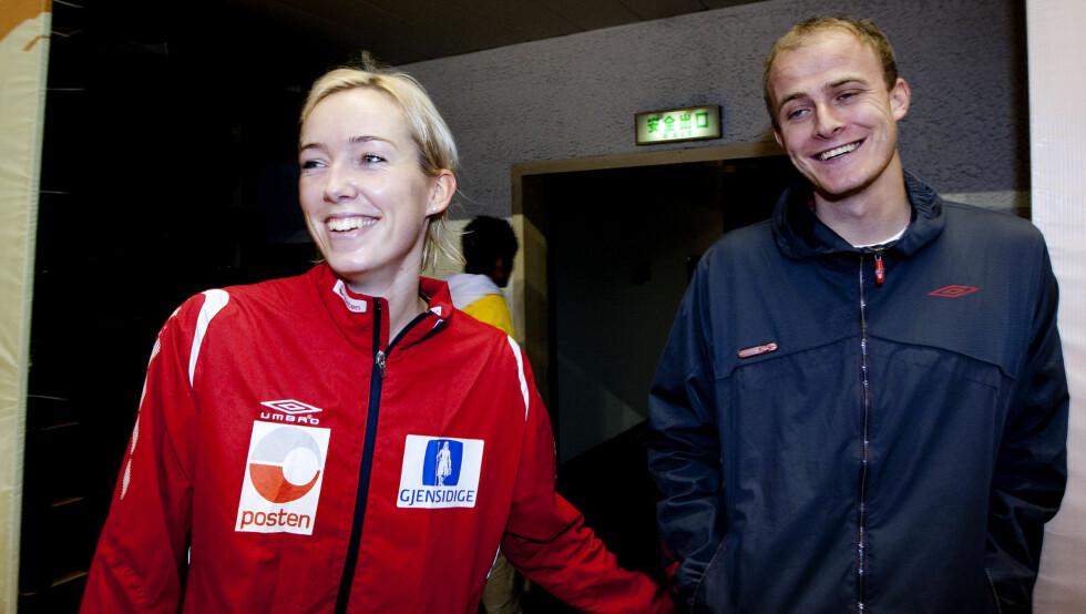 BRUDD: Katrine Lunde Haraldsen er ikke lenger sammen med Tom Reidar Haraldsen. Paret gikk fra hverandre for kort tid siden. Foto: NTB scanpix