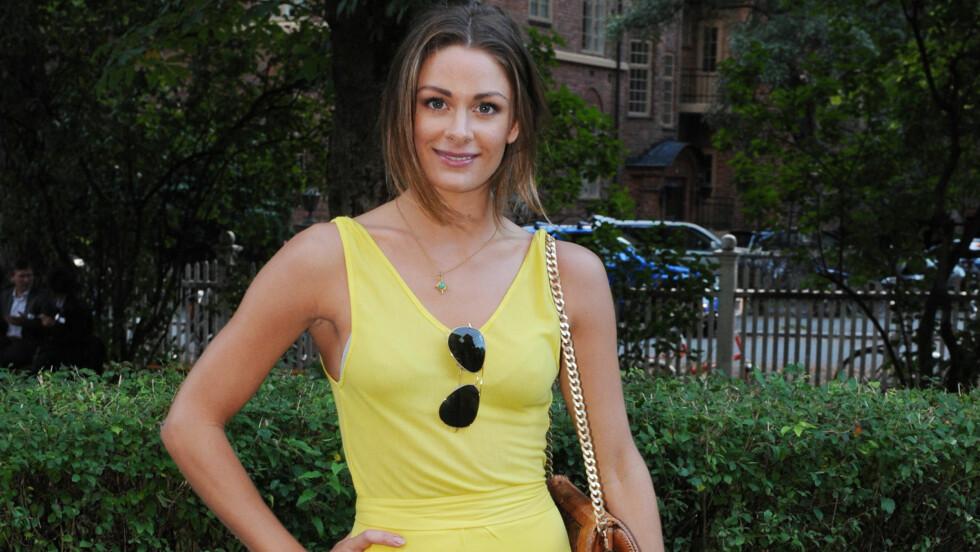 FRA REKLAME TIL GRAND PRIX: Jenny Skavlan har gått fra å spille i reklamefilm til å bli programleder for Melodig Grand Prix. Foto: Stella Pictures