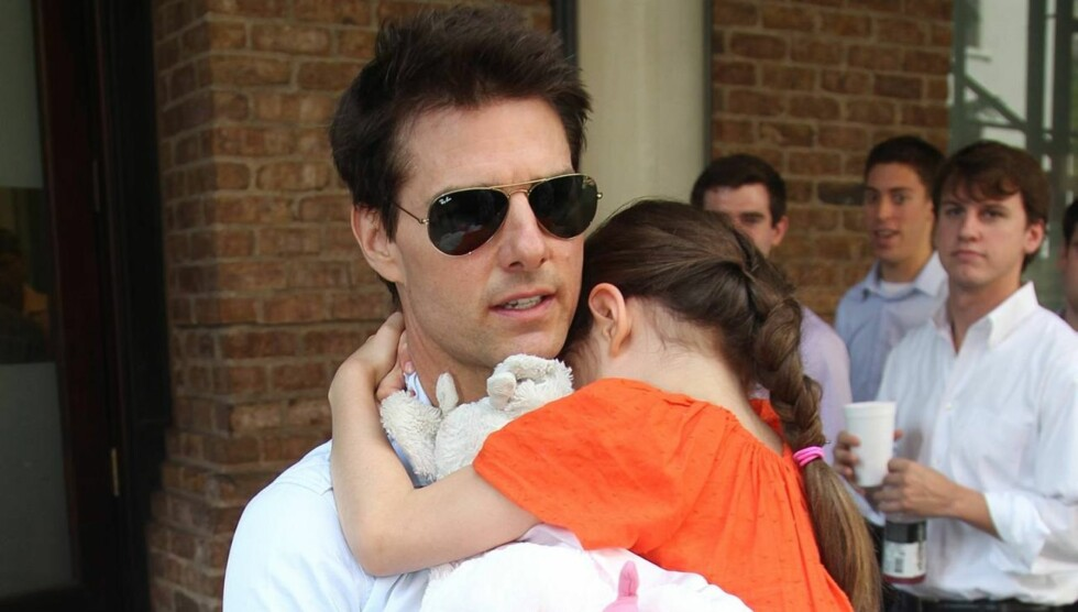 I LONDON: Tom Cruise er for tiden i London, der han spiller inn filmen «All you need is kill». Foto: All Over Press
