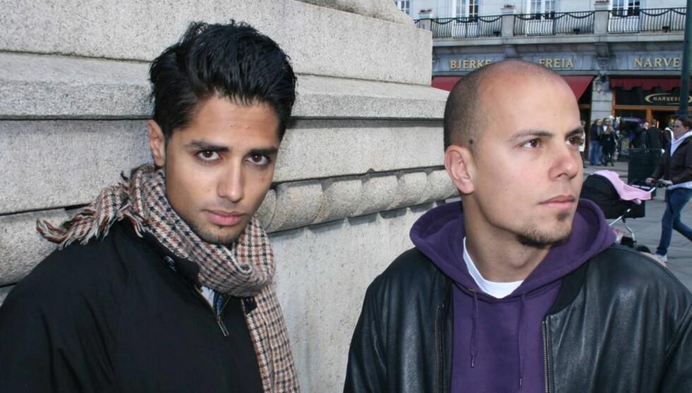OPPLEVDE MOBBING: Chirag Patel (t.v.) opplevde mobbing under ungdomstiden. Til høyre er Magdi Ytreeide Abdelmaguid. Foto: Anders Myhren/Seher.no
