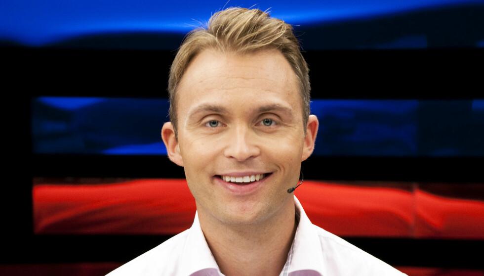 SANG I GOSPELKOR: TV 2-profilen Jon Hartvig Børrestad sang i gospelkor under oppveksten. Foto: TV 2 Sporten