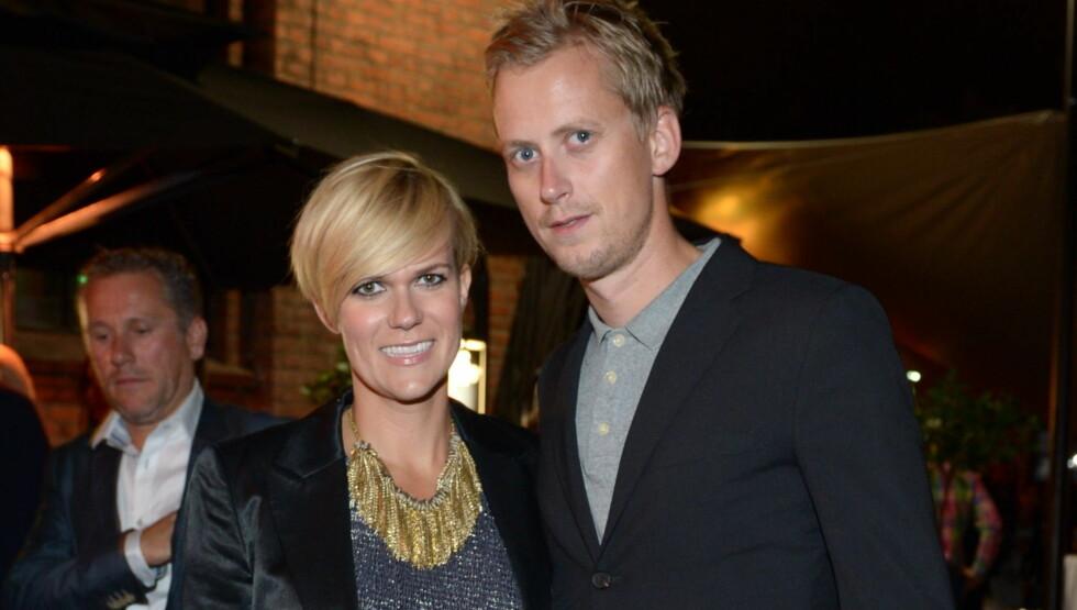 BLIR FORELDRE: Komikeren Sigrid Bonde Tusvik og hennes samboer Martin Jøndahl gleder seg til å bli foreldre til våren. Foto: Stella Pictures