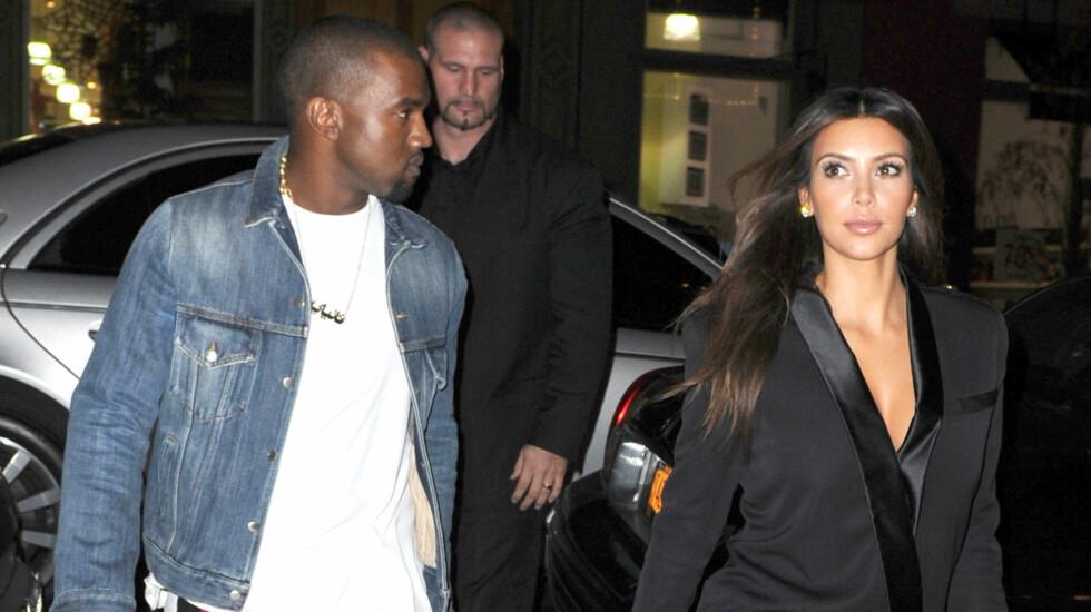 HAR KJØPT SEG KATT: Kanye og Kim har tatt forholdet et skritt lenger og har nå fått seg et felles kjæledyr. Foto: Stella Pictures