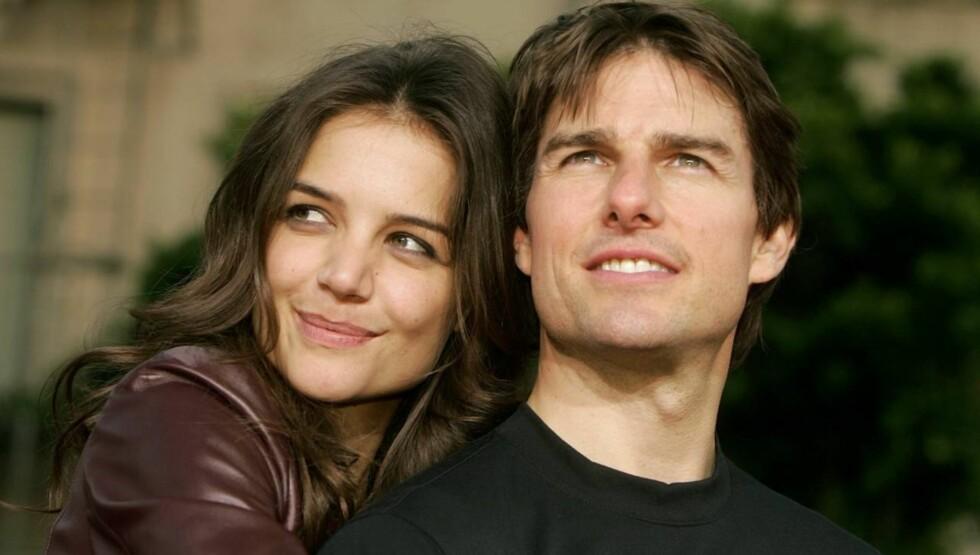 BENEKTER RYKTENE: Flere tidligere Scientologi-medlemmer påstår at kirken i alle år har hjulpet Tom Cruise med kjærlighetslivet, men stjernen nekter for å ha fått hjelp.  Foto: All Over Press