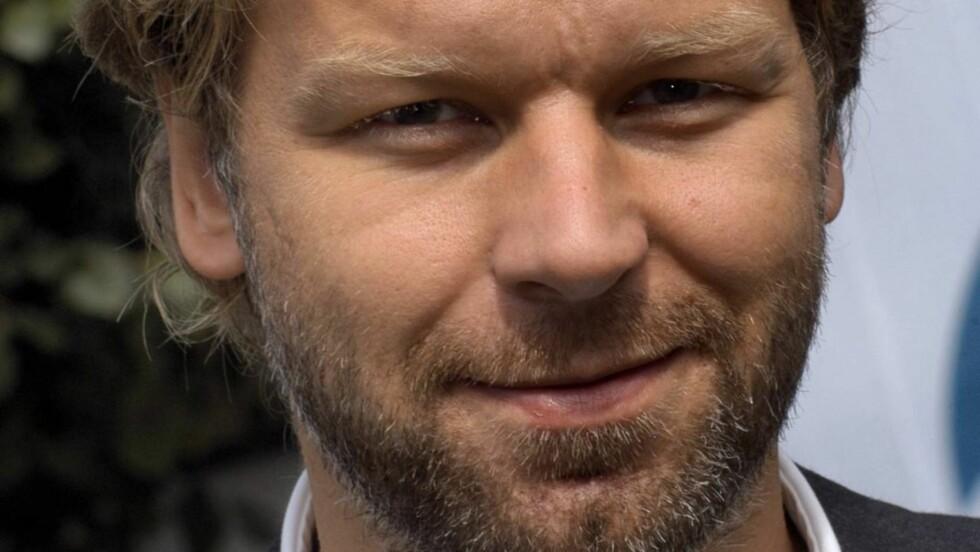 FØRST PAPPA: Espen Eckbo synes det var overraskende lett å prioritere de nære tingene etter at han ble pappa.