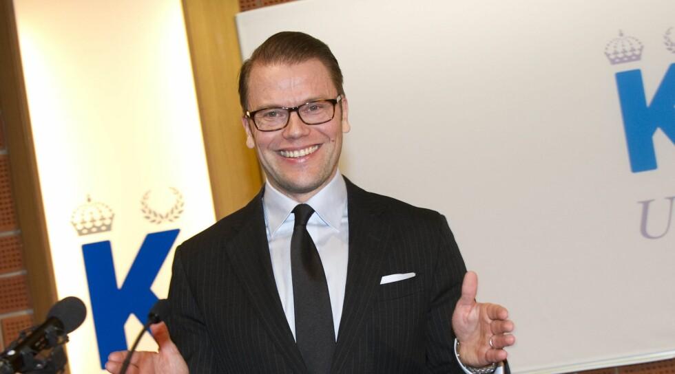 REISER TIL LONDON: Prins Daniel er det svenske kongehusets representant under Paralympics i London. Han er på plass fra mandag av. Foto: SCANPIX