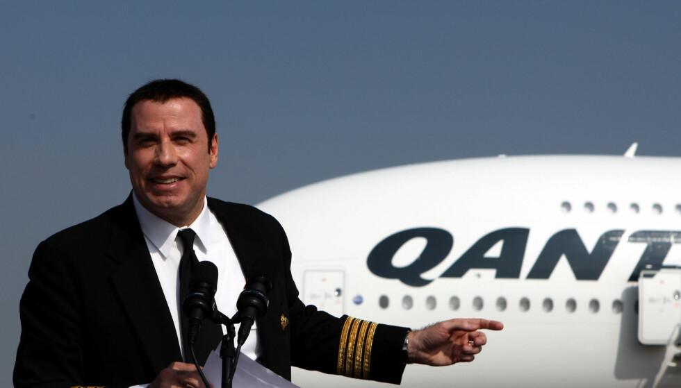 HEMMELIG AFFÆRE: John Travolta skal i flere år ha hatt et hemmelig homofilt forhold til en av pilotene sine.  Foto: All Over Press