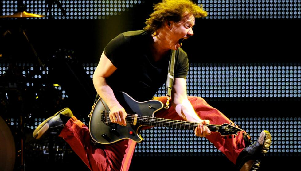 AVLYST FLERE GANGER TIDLIGERE: Van Halen måtte avlyse konserter i 2008 som følge av Eddies innleggelse på rehabil. Foto: All Over Press