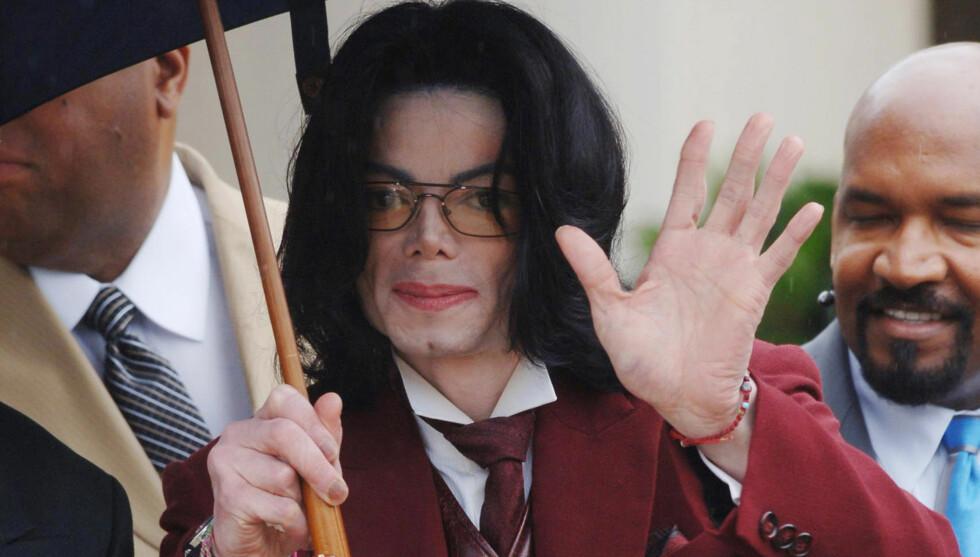 DÅRLIG FORM: Michael Jackson skal ha slit psykisk i tiden før den planlagte «This Is It»-turneen i 2009. Hans ansatte var også bekymret for hans medisinavhengighet.  Foto: Fame Flynet