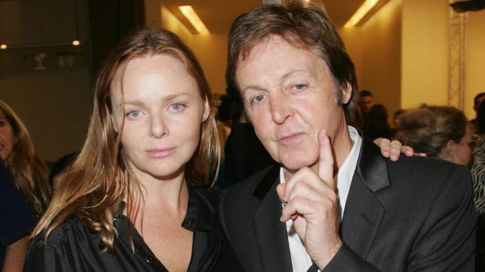 FRYKTER KREFT: Stella McCartney er redd for å dø av kreft slik moren Linda McCartney gjorde i 1998. Tapet var svært tungt både for Stella og faren Paul McCartney.  Foto: All Over Press