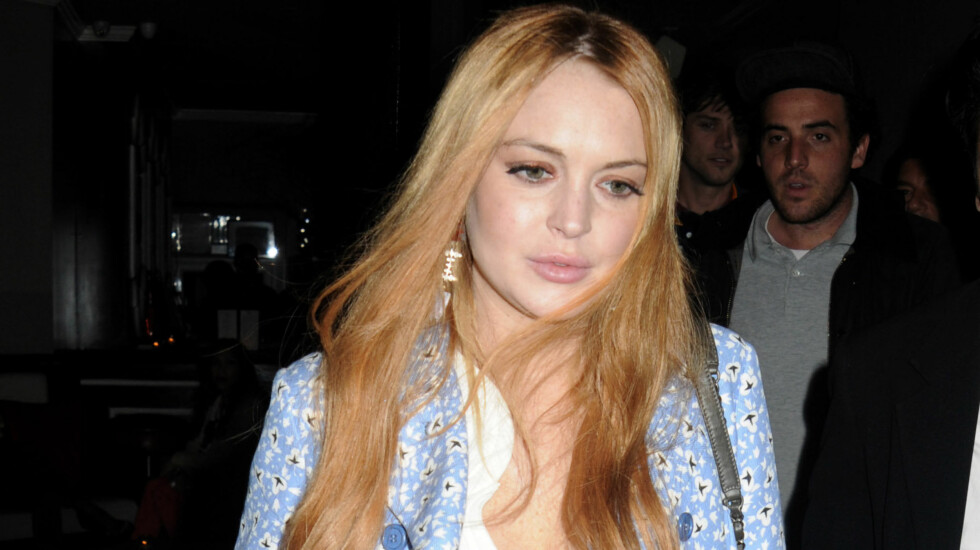 SKYLDER TUSENVIS: Lindsay Lohan bodde som en dronning og skylder nesten 300 000 kroner for oppholdet på hotellet.  Foto: All Over Press