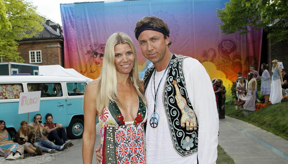 BRUDD: Den tidligere høydehopperen Steinar Hoen og Kristine Borge Hoen skiller lag. Foto: NTB scanpix