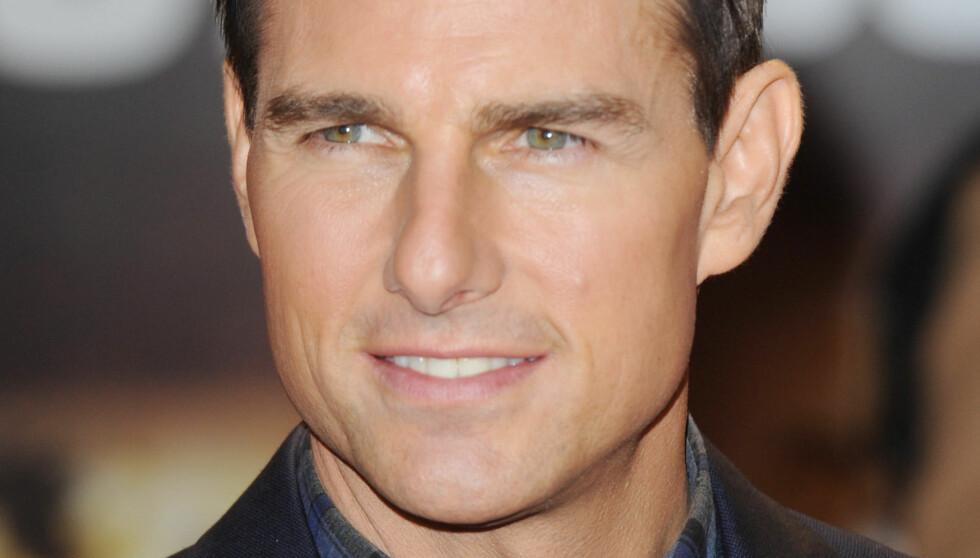 I HARDT VÆR: Tom Cruise insisterer på at alle beskyldningene om at han skal ha plukket ut Nazanin Boniadi gjennom en kone-audtition, ikke er sanne. Foto: fame flynet norway