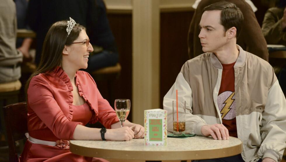 «BIG BANG» PÅ TV OG PÅ VEIEN: Mayim er nominert til en Emmy for beste birolle i serien «Big Bang Theory». Foto: TVNorge