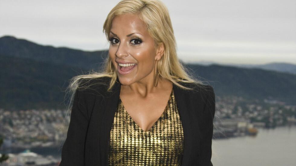 INN I DANSEN: Linni Meister ligger nå i hardtrening før premieren neste lørdag.  Foto: Stella Pictures