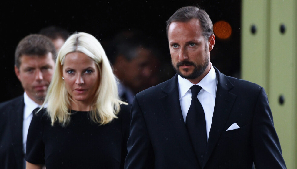 IKKE BLIDE: I et åpent brev raser kronprinsparet mot tabloidavisen VG. Foto: All Over Press
