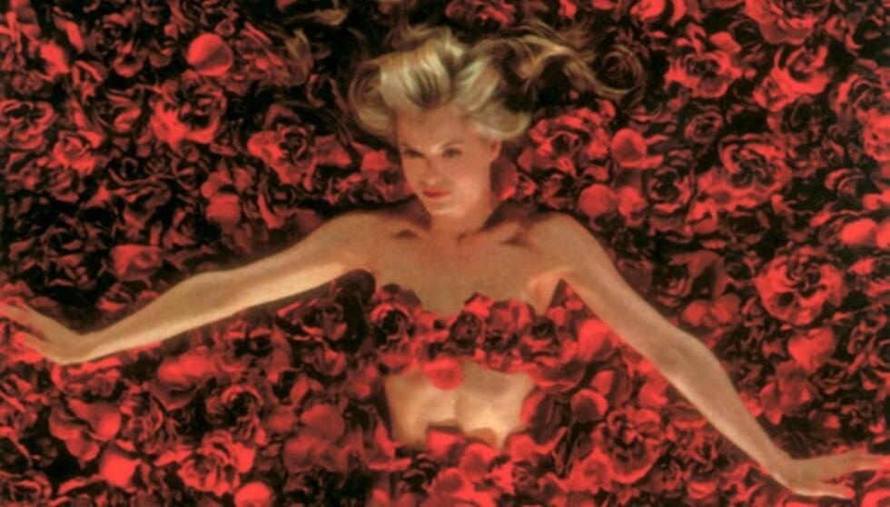 LIKER YNGRE MENN: Mena slo gjennom i filmen «American Beauty» i 1999.