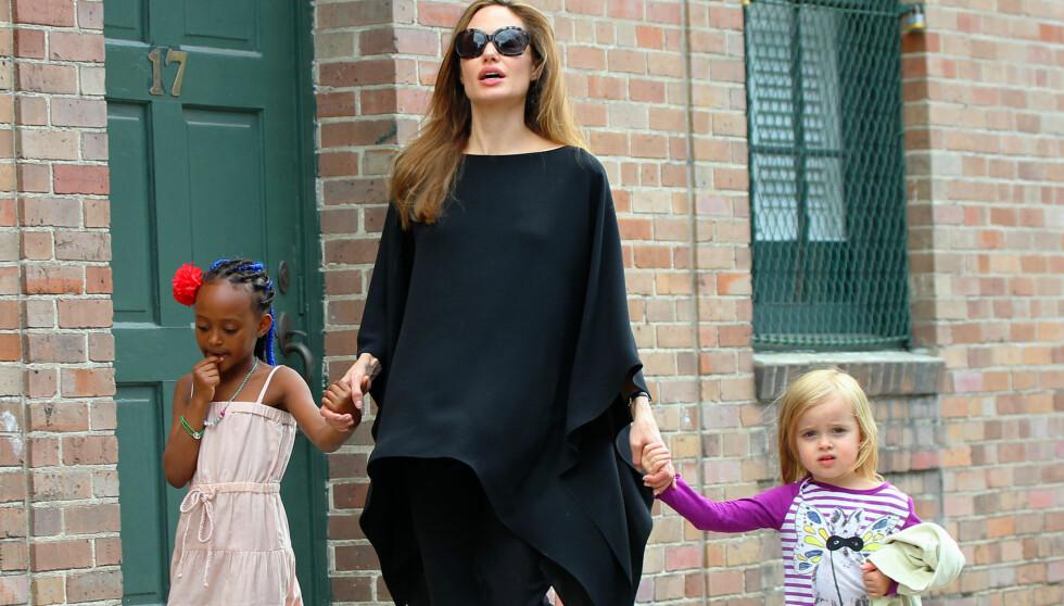 HAR HOVEDROLLEN: Angelina Jolie har hovedrollen i den kommende filmen. Foto: All Over Press