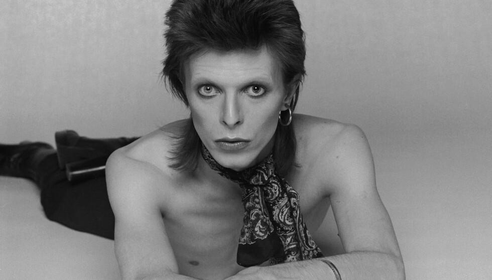 HADDE ET FORHOLD TIL MOREN HANS: David Bowie hadde et forhold med Slash sin mor. Bildet er fra 1974, samme året som de to møtte hverandre for første gang.  Foto: All Over Press