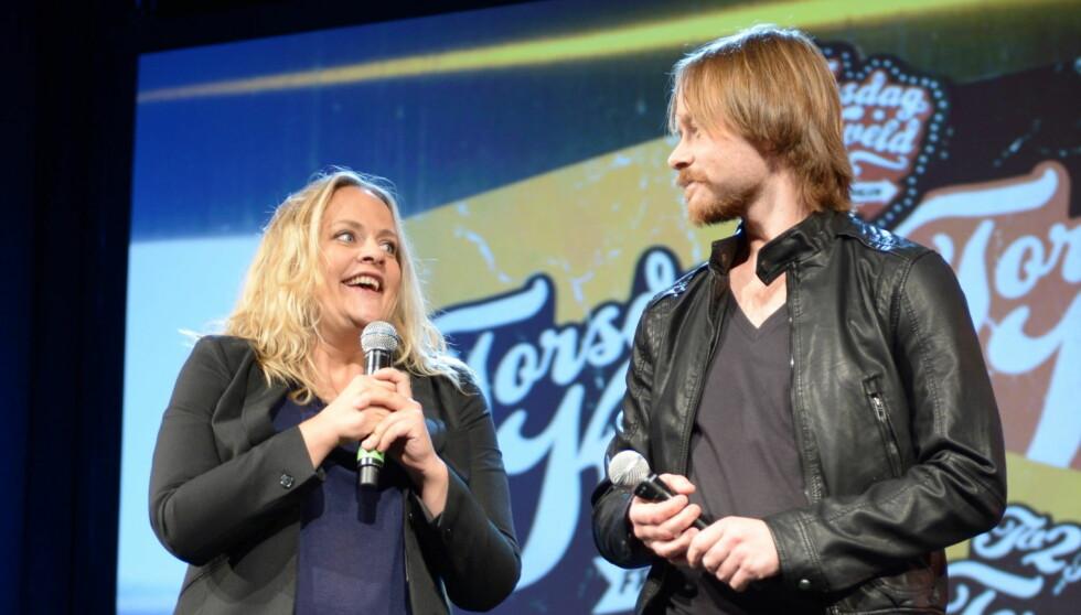 ERSTATTERNE: Henriette Steenstrup og Jan Gunnar Røise overtar i det populære TV 2-programmet. Foto: Stella Pictures