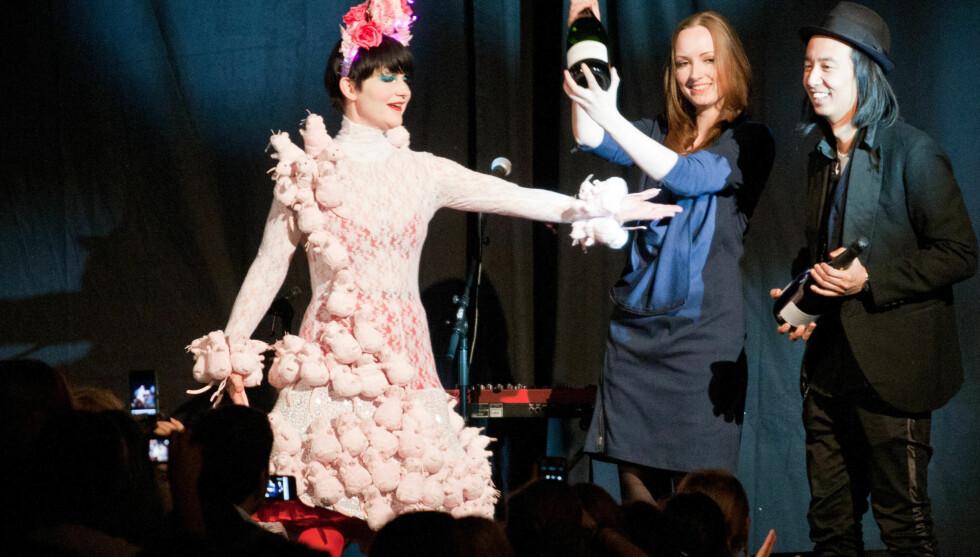 PÅ DET TYNNESTE: Slik så Koht ut under Oslo Fashion Week i februar 2011. Foto: Stella Pictures