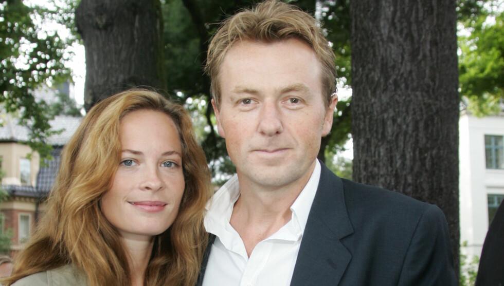 STOLTE FORELDRE: Maria Bonnevie og Fredrik Skavlan ble foreldre til en liten jente tidligere denne måneden. Foto: STELLA PICTURES