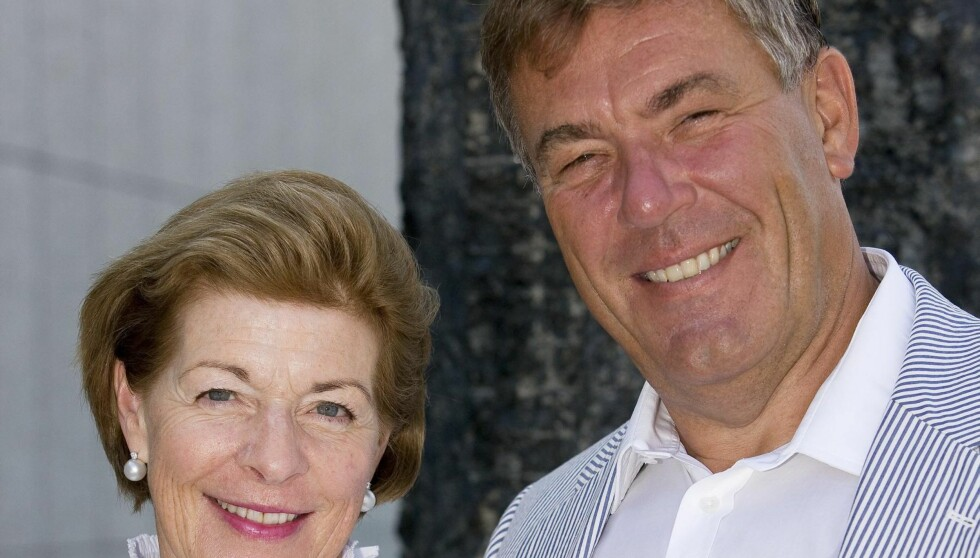 SLUTT: Milliardærene Mille-Marie Treschow og Stein Erik Hagen har flyttet fra hverandre.