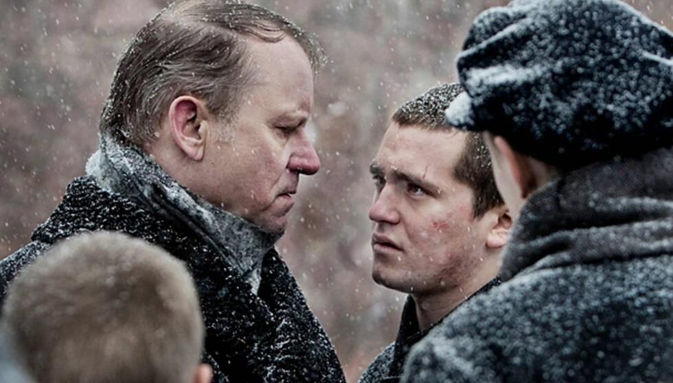 NORSK SUKSESS: Svenske Stellan Skarsgård har spilt i en rekke norske filmer, som her i «Kongen av Bastøy». Foto: Filmweb