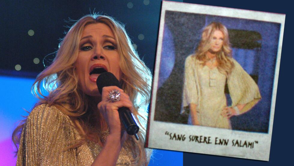DROPPET TO PROGRAMMER: Marianne Aulie trakk seg i 2007 fra TV3-programmet «Sangstjerner», etter denne annonsen i Dagbladet og VG der det sto at hun «Sang surere enn salami». Nå har hun trukket seg fra «Skal vi danse» av helt andre grunner.