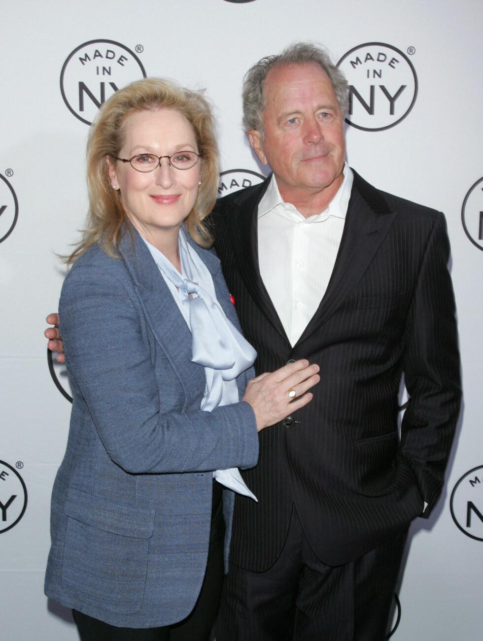 32 ÅR: Meryl Streep er kjent fra blanet annet «The Devil Wears Prada», og har gitt skulptøren Don Gummer fire barn. Foto: All Over Press