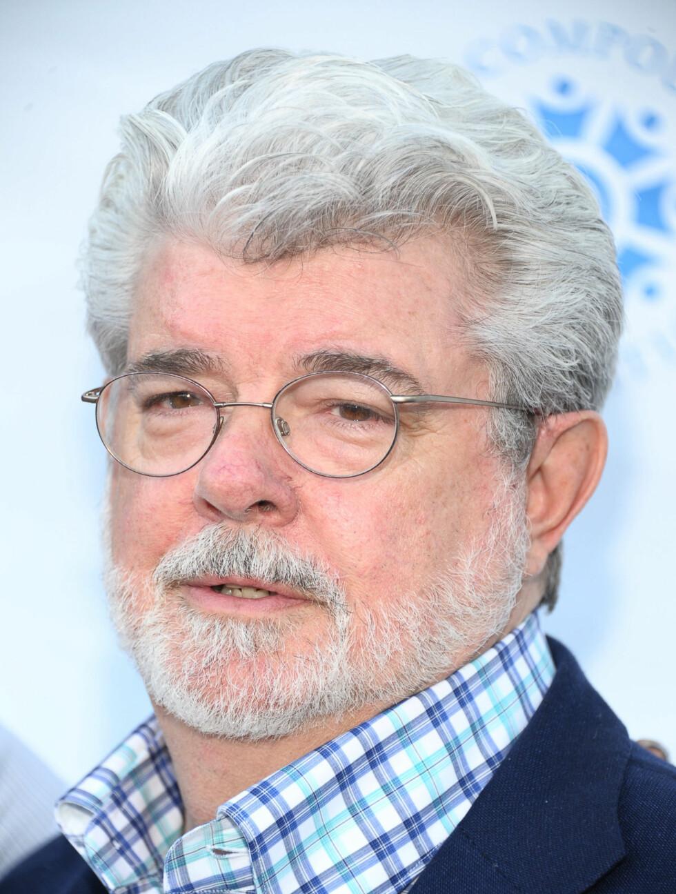NUMMER #9: Stjerneregissøren George Lucas (68) står bak filmene «Star Wars» og «Indiana Jones». Det siste året tjente han også 550 millioner kroner millioner. Med andre ord uavgjort med Cowell. Foto: All Over Press