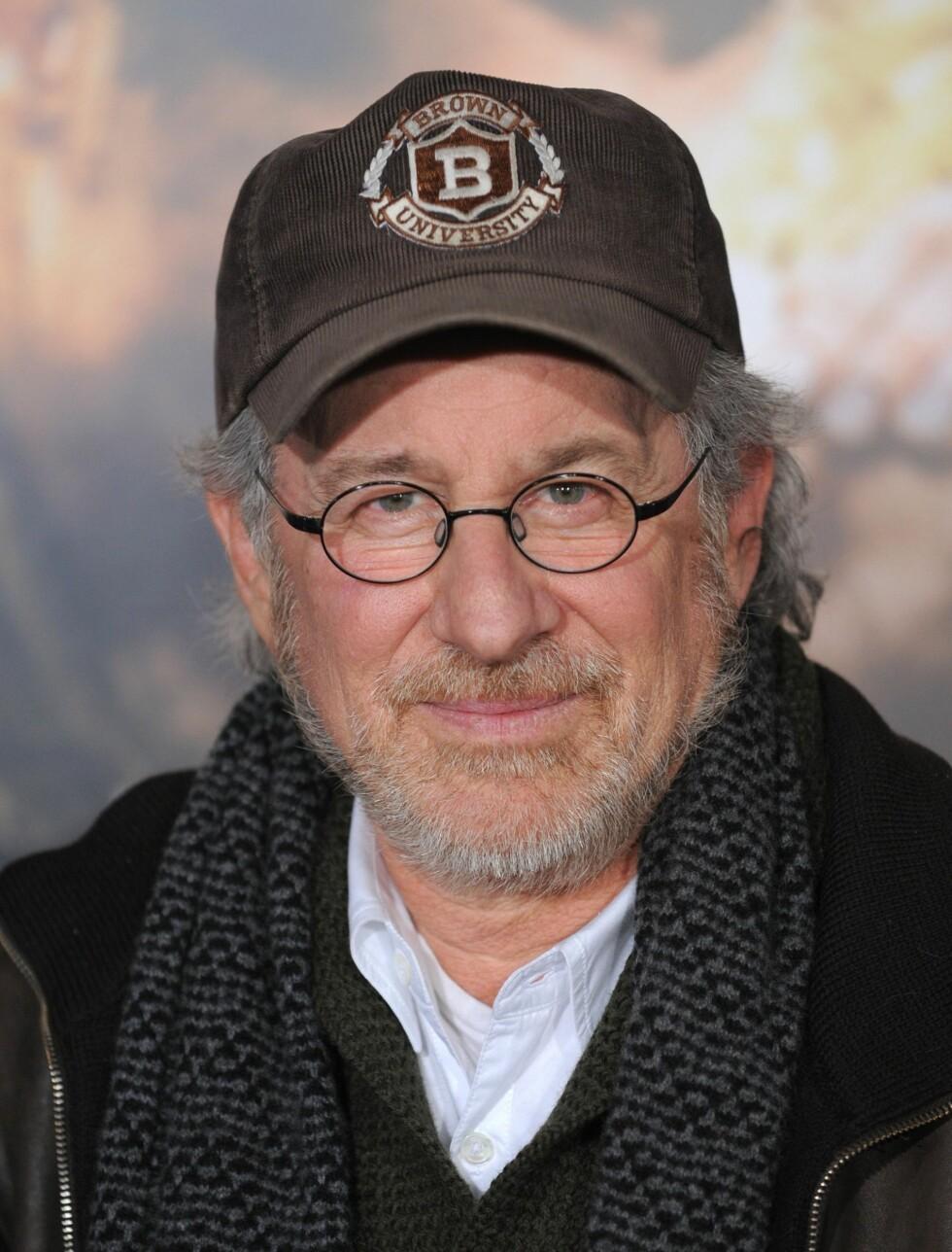 NUMMER 4: Steven Spielberg (65) er regissøren som nesten ikke trenger noen introduksjon. Han står bak filmer som «Schindlers Liste», «Artificial Intelligence» og hans siste storfilm «War Horse». Det gjorde han 795 millioner kroner rikere det siste Foto: Fame Flynet
