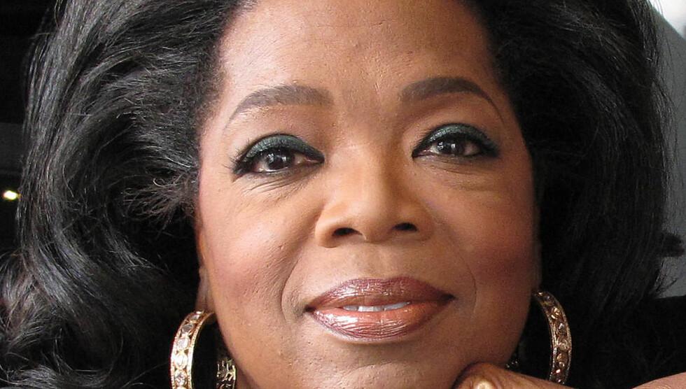 NUMMER #1: Talkshowdronningen Oprah Winfrey (58) har i 25 år ledet sitt eget program «Oprah». Nå har hun startet sin egen kanal «OWN» og håvet inn én milliard og ni millioner kroner det siste året.  Foto: All Over Press