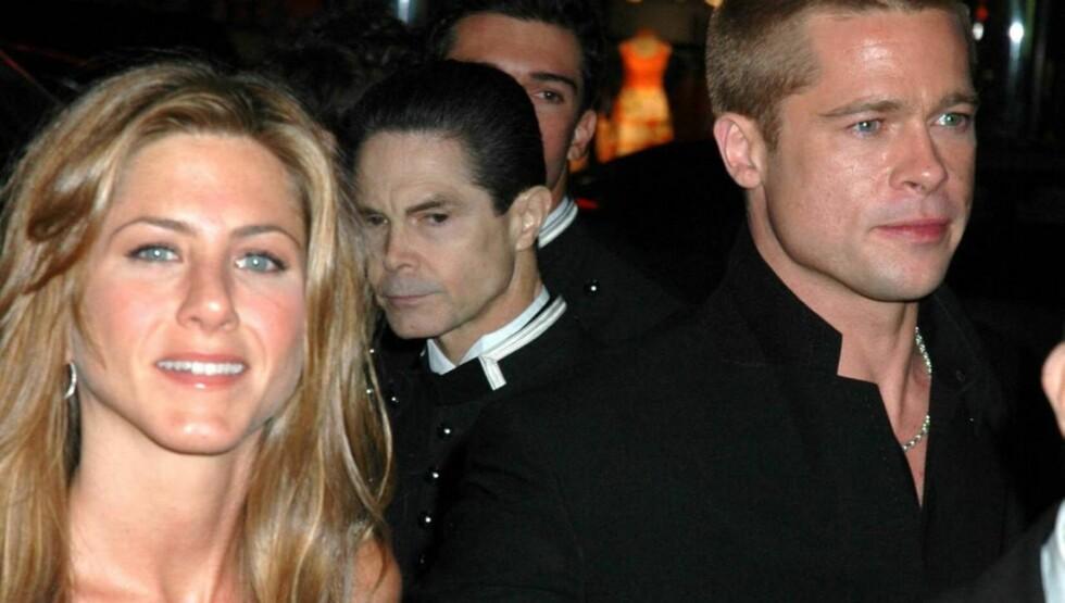 TIDLIGERE EKTEPAR: Jennifer Aniston og Brad Pitt var gift mellom 2000 og 2005. Foto: All Over Press