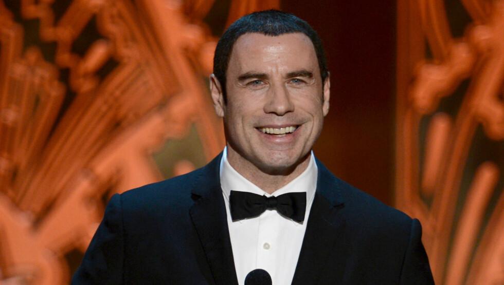 FLERE ANKLAGER: En rekke menn har anklaget Travolta for seksuelle overfall, men Travolta har benektet alt sammen. Foto: All Over Press