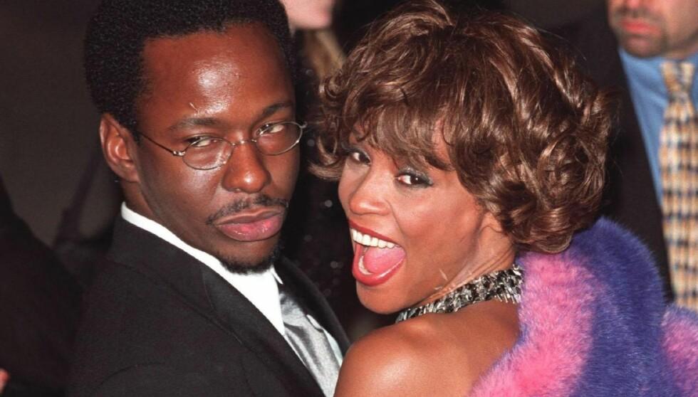 TURBULENT EKTESKAP: Bobby Brown og Whitney Houston var gift fra 1992 til 2007. Paret lagde ofte overskrifter på grunn av narko-ryktene som svirret rundt dem. Foto: Stella Pictures