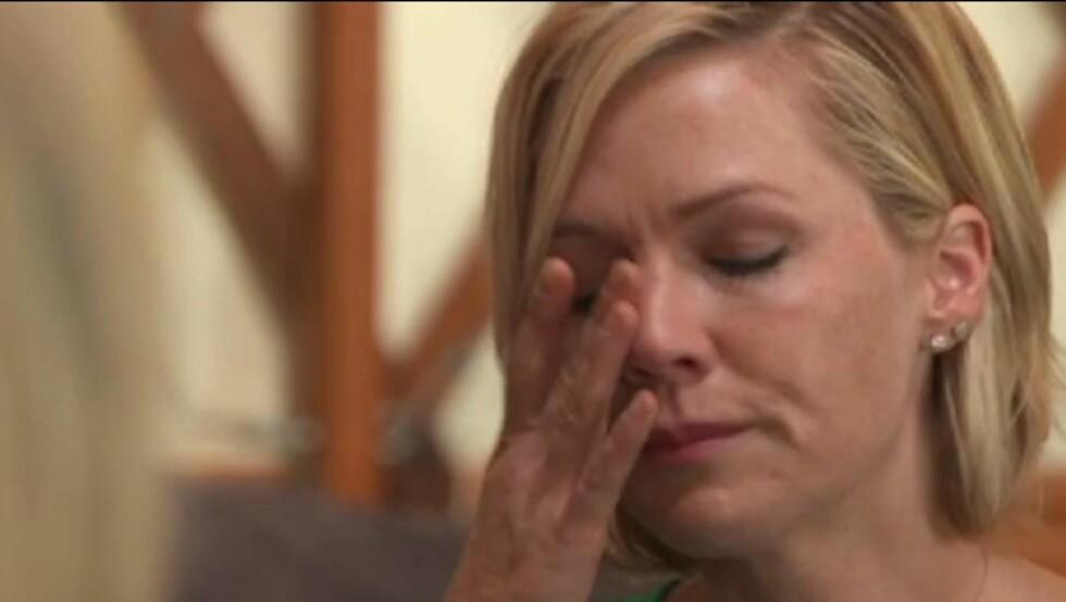 TAR SKILLSMISSEN TUNGT: Jennie brøt sammen i gråt på tv over skillsmissen. Selv et halvt år etterpå tar hun det fremdeles tungt.