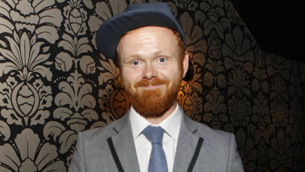 -IKKE TID TIL Å DATE: Ivar Christan «Ravi» Johansen sier han ikke har hatt tid til å date i sommer på grunn av sin nye programlederjobb på TV3. Foto: Stella Pictures