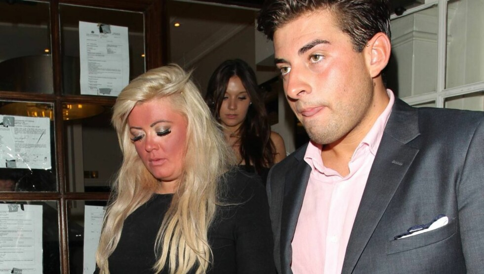 UTRO: Gemma Collins raser mot kjæresten James Argent på Twitter og anklager ham for å ha vært utro. Foto: All Over Press
