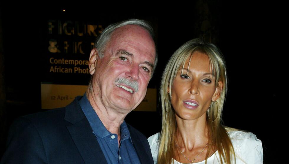 NYGIFT: John Cleese har giftet seg med Jennifer Wade.  Foto: Stella Pictures
