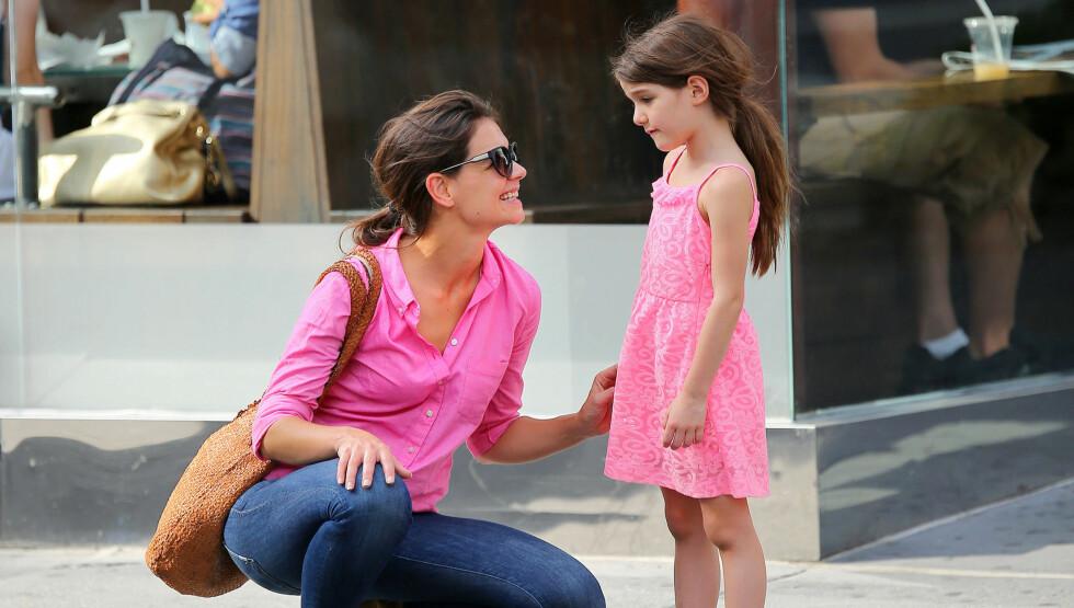 LAR SEG IRRITERE: Ifølge nettstedet Contactmusic.com skal Katie Holmes la seg irritere av oppførselen til eksen Tom Cruise. Foto: All Over Press