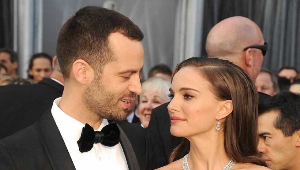 NÅ ER DE GIFT: Natalie Portman skal ifølge People ha giftet seg med sin kjæreste Benjamin Millepied lørdag. Foto: All Over Press