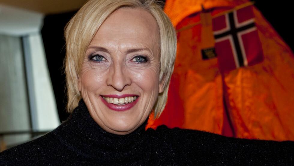 - SKULLE GJERNE HATT EGNE BARN: NRKs Karen-Marie Ellefsen sier i et intervju med VG at hun savner å ha egne barn. Foto: Foto: Per Ervland, Seher.no