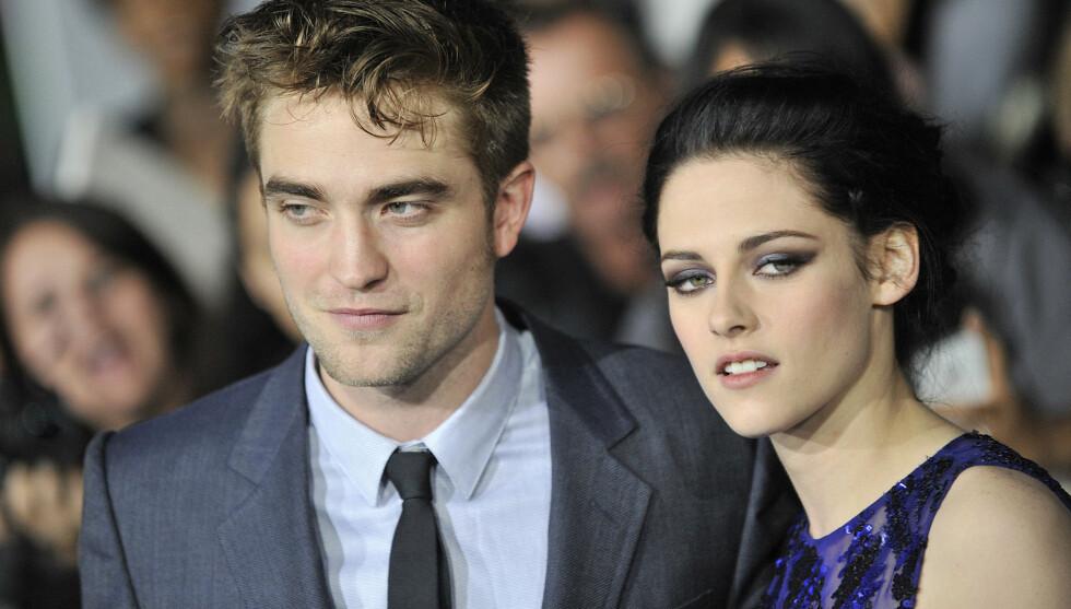 BIRE FØLELSER: Kristen og Robert har spilt vampyrparet Bella og Edward i fire «Twilight»-filmer. I november kommer den femte og siste.  Nå kan det også være slutt på deres kjæresteforhold. Foto: All Over Press